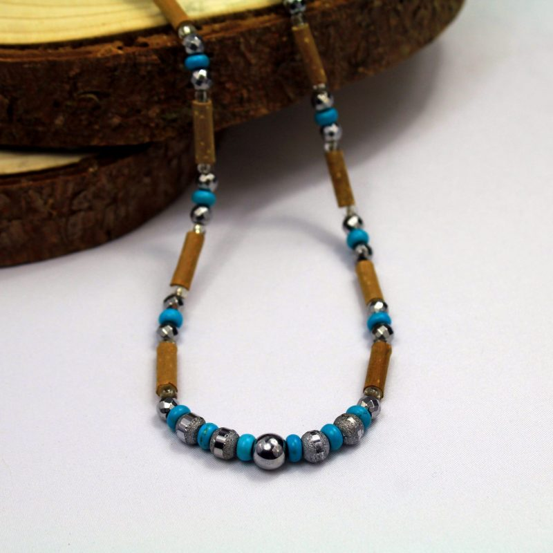 Turquoise-collier