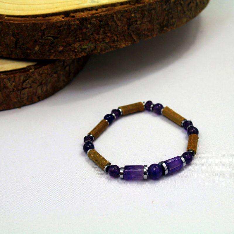 Amethyste-bracelet