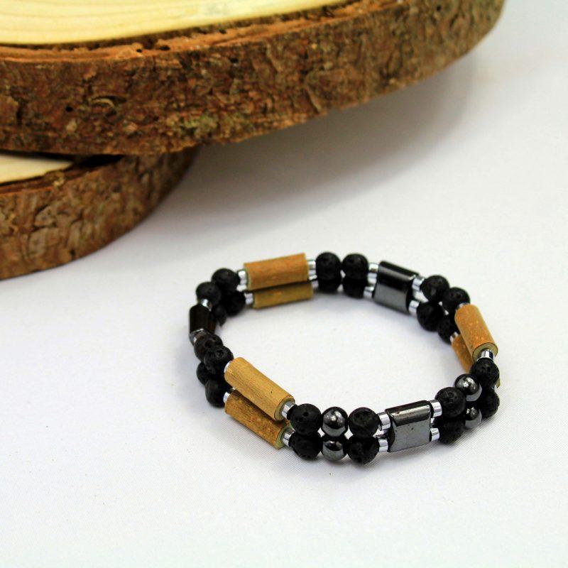 Pierre-lave-bracelet-double