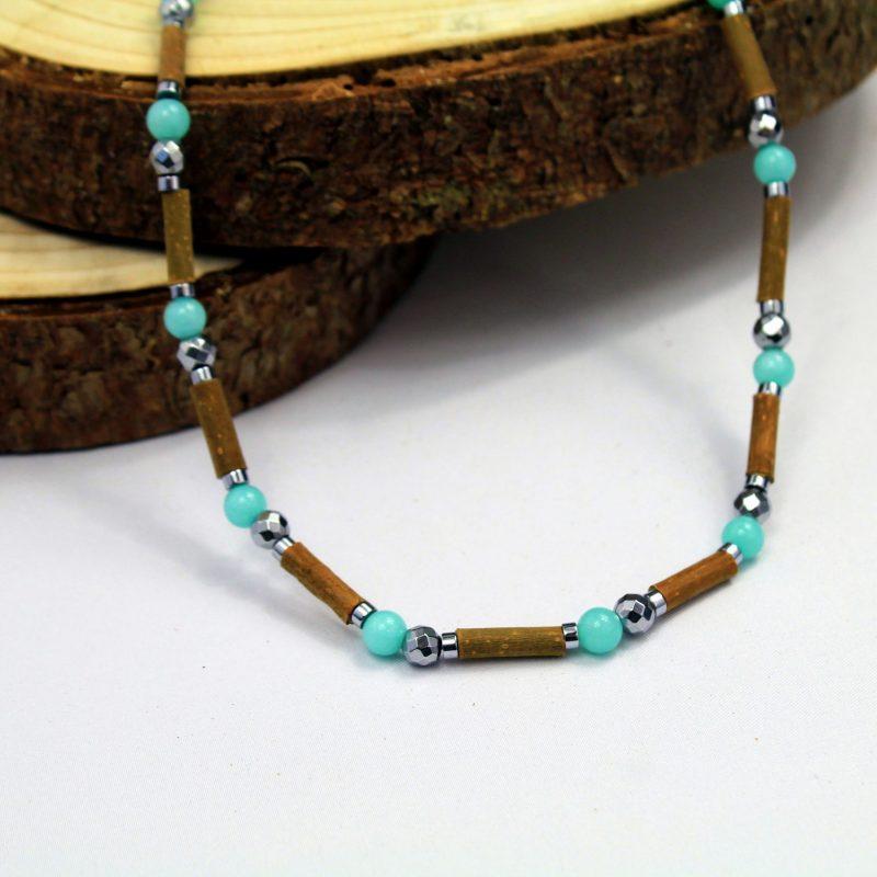 Amazonite-collier